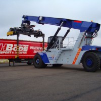 Container reachstacker FANTUZZI